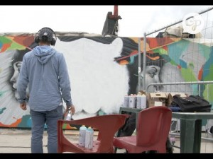 Fiesta des Suds : graff in progress…